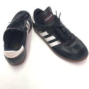Adidas Samba Classic Black White Stripes Size 7.5